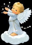 Cuento infantil del angelito y el cielo