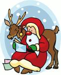 Cuento sobre Papa Noel y sus regalos