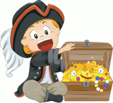 A short story about obedience and pirate's treasures